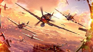 Massiv luftkrig i World of Warplanes