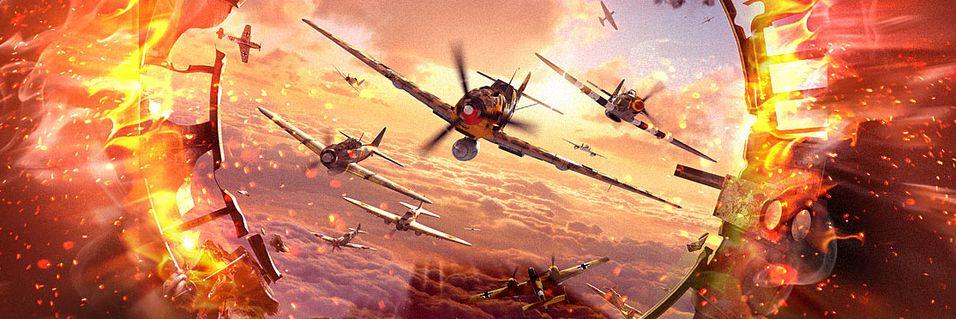 Massiv luftkrig i World of Warplanes