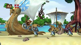 Skjermbilde fra Donkey Kong Country: Tropical Freeze.