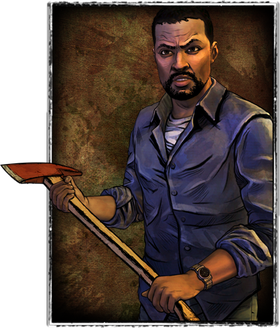 Lee Everett, figuren som Dave Fennoy ga stemme til i The Walking Dead.
