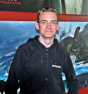 Martin Hultberg er leder for kommunikasjon og brukerundersøkelser i Massive Entertainment. (Foto: Marius Kjørmo/Gamer.no)