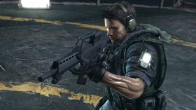 Chris Redfield.