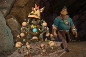 Knack er et av spillene som kan streames til PS Vita.