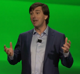 Don Mattrick under avdukingen av Xbox One. (Foto: Offisiel stream)