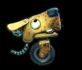 Er dette en spillfigur i Christopher Seavors nye spill? (Illustrasjon: Christopher Seavor/Gory Detail)