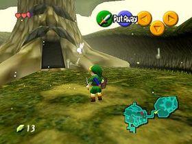 Legend of Zelda: Ocarina of Time.