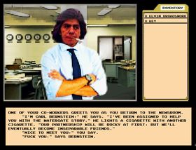 Watergate: The Video Game.