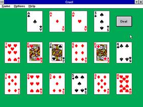 Velkjente spillekort.