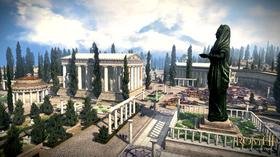 Bilde fra en gresk DLC-by.