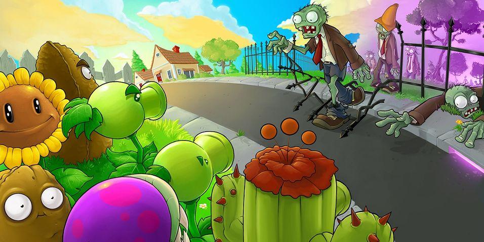Har du fortsatt ikke spilt Plants vs Zombies?