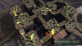Skjermbilete frå Defense Grid.