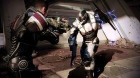 Skjermbilete frå Mass Effect 3.