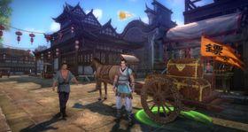 Asiatiske MMO-spill anklages ofte for å la brukerne betale for å «vinne». Her: Age of Wushu.