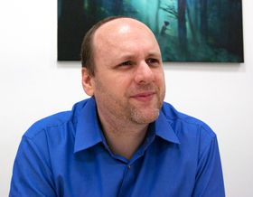 David Cage. (Foto: Audun Rodem/Gamer.no)
