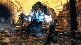 Lekket skjermbilde fra Dark Souls II.