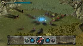 Tidlig bilde fra spillet.