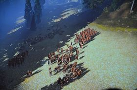 Mikrokontroll i Total War: Arena.