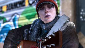 Ellen Page drar frem både gitaren og stemmen.