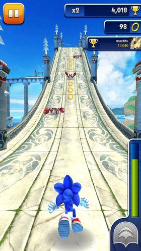 Sonic Dash.