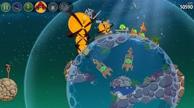 Angry Birds Space.