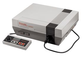Nintendo Entertainment System (bilde: Wikipedia).