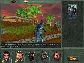 De nye spillbare rasene ga litt variasjon til oppskriften, men Might and Magic VIII: Day of the Destroyer hadde fortsatt trengt et stort teknisk løft. Bilde: giantbomb.com