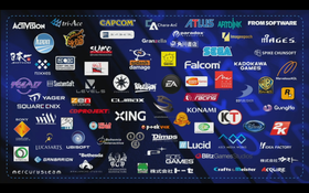 Noen av spillstudioene som allerede jobber med PlayStation 4-spill (skjermdump fra pressekonferansen).
