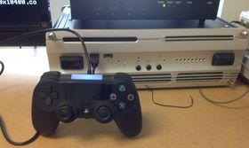 Prototyp av PlayStation 4-kontroller.
