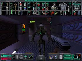 Skjermbilde fra System Shock 2.