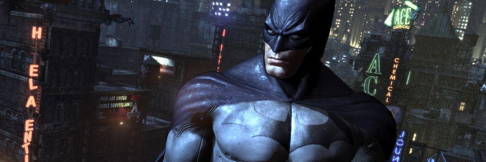 Bli med ned i hula til Batman