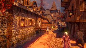 Skjermbilde fra Drømmefall: Kapitler, som bruker Unity-motoren.