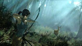 Lara på jakt.