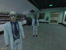 Skjermbilete frå Half-Life.