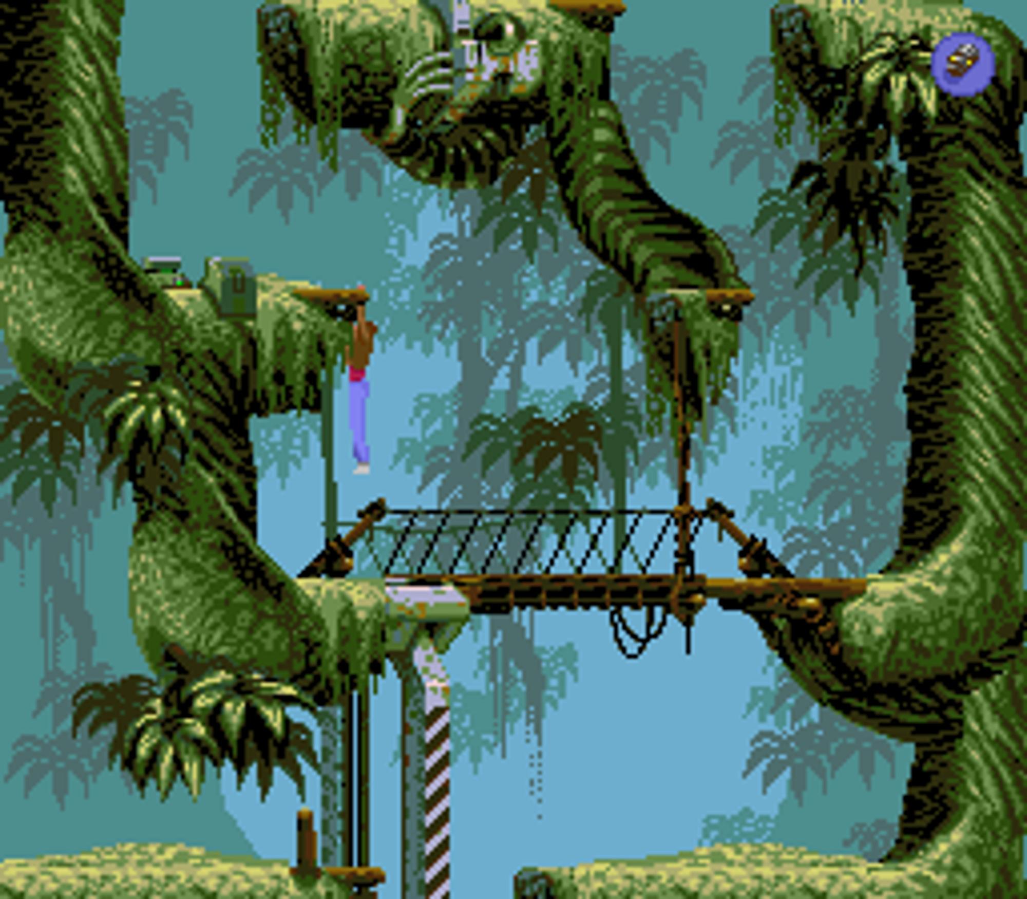 Skjermbilde fra originalversjonen på MS-DOS.