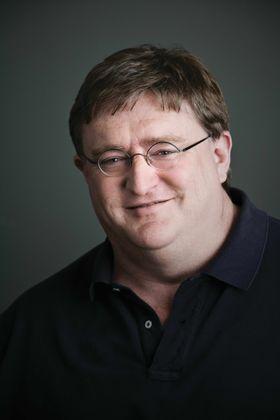 Gabe Newell. (Bilde: Valve)