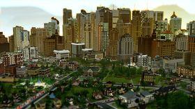 Store skyskrapere og små husstander.