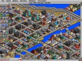 SimCity 2000.