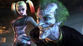 The Joker og hans høyre hånd.
