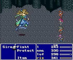 Slik såg Final Fantasy V ut i si tid.