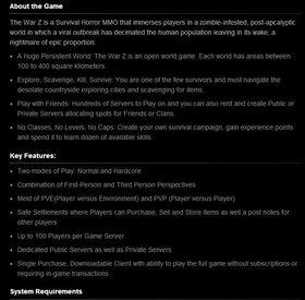 Steam-beskrivelsen med feil informasjon. (Kilde: GameSpy)