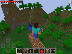 Minecraft: Pocket Edition.