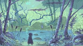 Black Lake er det andre spillet fra Amnesia Fortnight med kvinnelig hovedperson.
