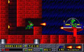 Et av Cliff Bleszinskis første spill var plattformeventyret Jazz Jackrabbit.