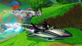 Sonic-franchisen dominerer persongalleriet med hele syv ulike figurer.