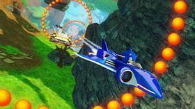 Det blir naturlig nok mye flying i baner basert på NiGHTS into Dreams.