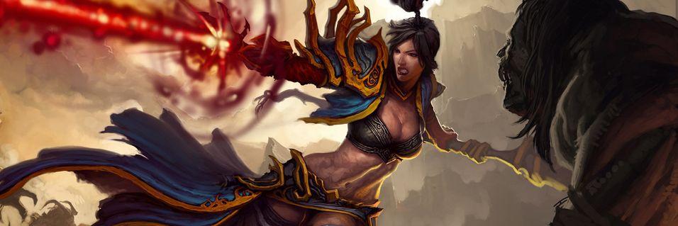 – Diablo III føles best med håndkontrollere