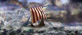 Vikinger og drager høres egentlig ut som en god kombinasjon.