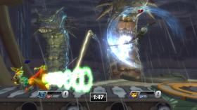 Monstre fra God of War invaderer Metropolis.