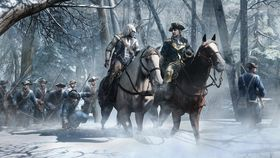 George Washington er en av de mange gufsene fra fortiden som er med.