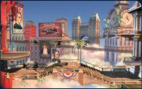 Columbia-nivået fra kommende BioShock Infinite. (Bilde: NeoGAF)